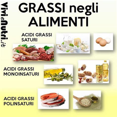 grassi alimenti cucina fitness macronutrienti lipidi o grassi