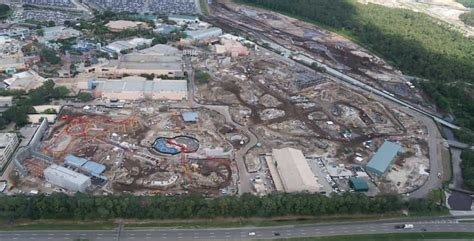 walt disney world construction update with aerial photos studios springs and more