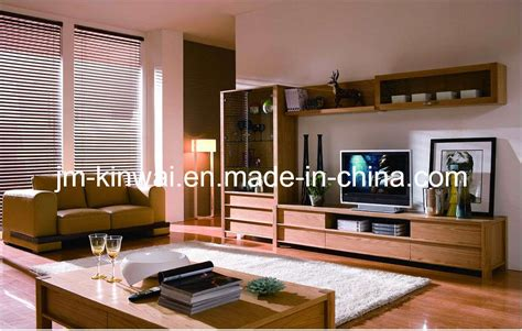 Wooden Living Room Furniture China Oak Solid Wood Tv Unit Living Room Furniture China Tv Stand Wall Unit