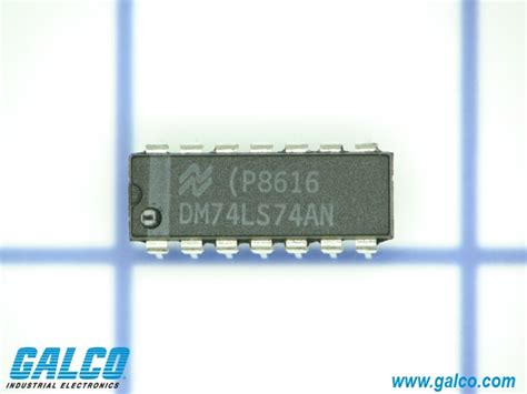 national semiconductor integrated circuit dm74ls74an national semiconductor integrated circuit galco industrial electronics