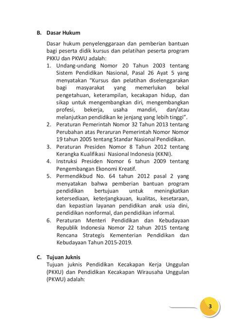 Demand Letter Adalah juknis pkku pkwu 2016