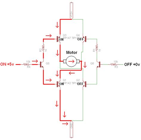 bipolar transistor h bridge motor h bridge 4 npn transistors wroc awski informator internetowy wroc aw wroclaw hotele wroc