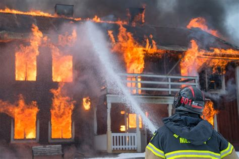 firefighters put  lives     fires