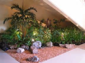 Indoor Rock Garden Ideas Indoor Garden Design Usefull Stairs