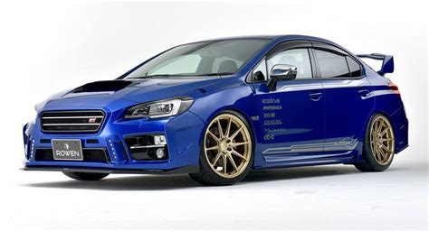 Subarue Sti Rowen Turns Subaru Wrx Sti Into A Road Going Rally Car