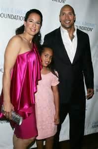 Dwayne johnson daughter age