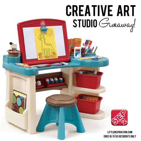 step2 studio art desk step2 creative art studio giveaway happy hour projects