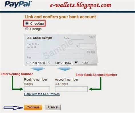 debit to bank account paypal business debit card routing number