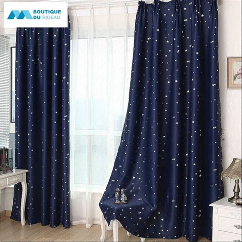 Rideau Occultant Chambre Enfant by Rideau 233 Toiles Enfant 233 Toile Rideaux Occultant Bleu