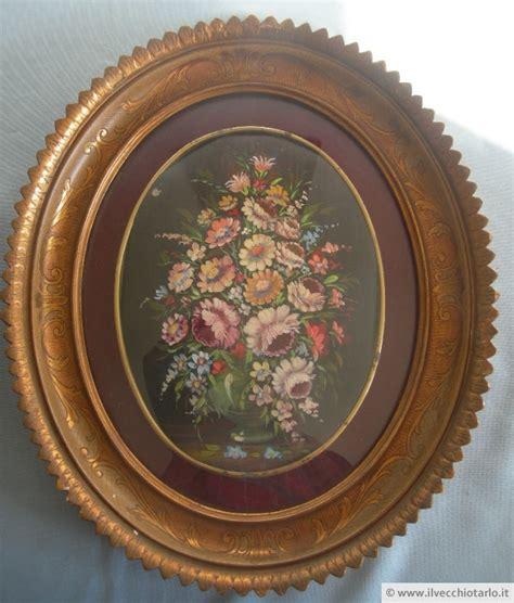 cornici ovali per quadri antichi dipinti ovali