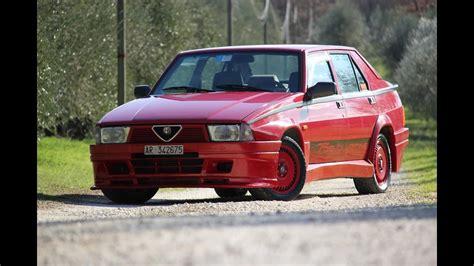 volante alfa 75 experiencias al volante alfa romeo 75 turbo evoluzione