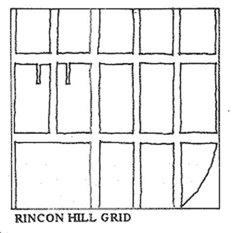 grid pattern streets san francisco general plan rincon hill
