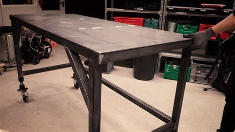 how to build a welding table welding table build