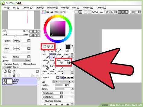 paint tool sai magic wand problem how to use painttool sai 10 steps with pictures wikihow