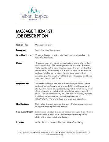 supervisor job description
