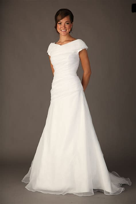 Modest Wedding Dresses by Modest Wedding Dresses Dressed Up