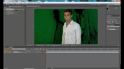 tutorial after effect green screen green screen chroma key ita tutorial after effects