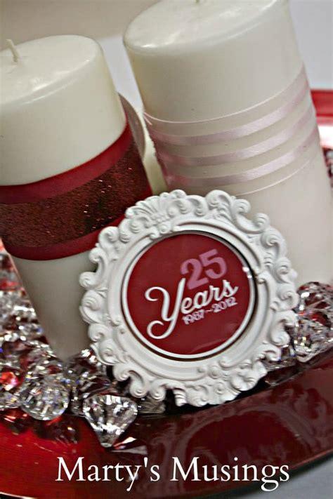 year wedding anniversary party decor ideas