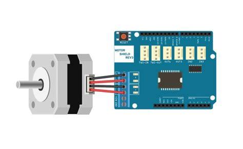 how to connect a stepper motor arduino stepper motors 1