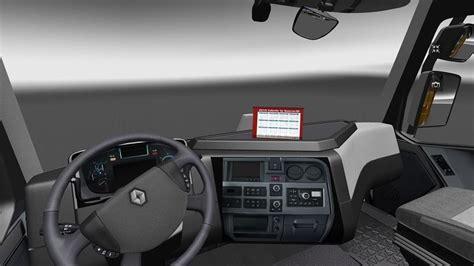 ets 2 renault range t original interior v 1 16 2 renault