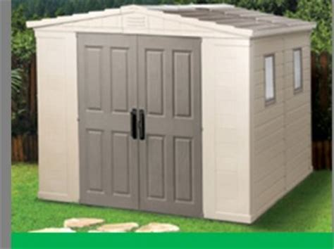 Keter Plastic Shed 8x8 by Brand New Keter Apollo 8x8 Shed Delivered Professionally