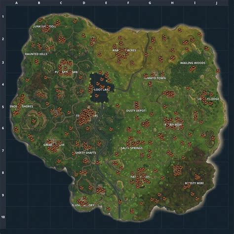 where fortnite letters are located fortnite battle royale fortniteinsider on