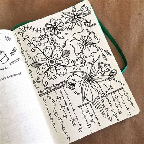 doodle flowers tutorial 45 creative doodle tutorials and exles