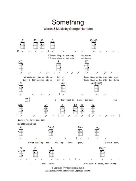 comfort eagle chords something sheet music direct