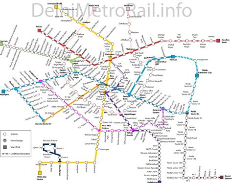 metro map in assured return projects in noida sector 62 office space