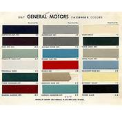 1967 Chevelle Paint Charts And Codes