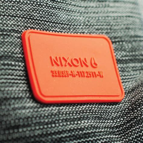 Patch Rubber 3 global apparel trims brand id