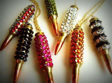 Trend Alert Girlie Chains by Girly Bullet Bling Bullet Necklace