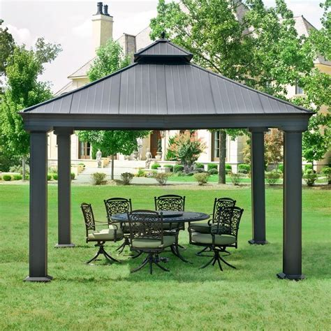 Patio Gazebo Clearance 17 Best Ideas About Hardtop Gazebo On Pinterest Gazebo Ideas Gazebo Curtains And Gazebo
