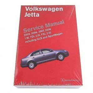 Volkswagen Jetta 2005 2006 2007 2008 2009 2010 Repair