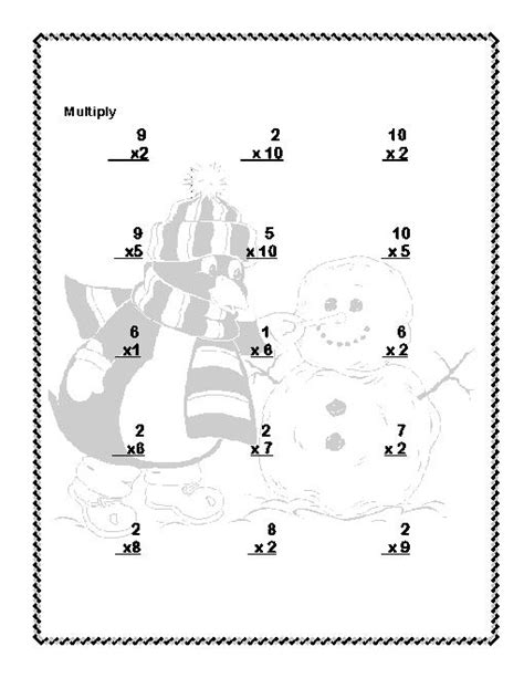 penguin math coloring page 13 best images of penguin math worksheets first grade