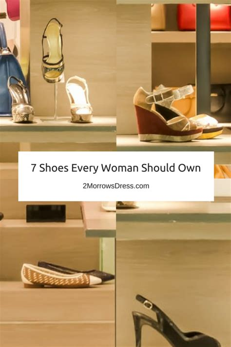 shoes every should 7 shoes every should own 2morrows dress