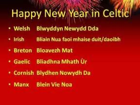 gaelic new year happy new year in celtic gaelic celtic sayings
