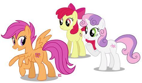 cutie mark crusaders my little pony fan labor wiki