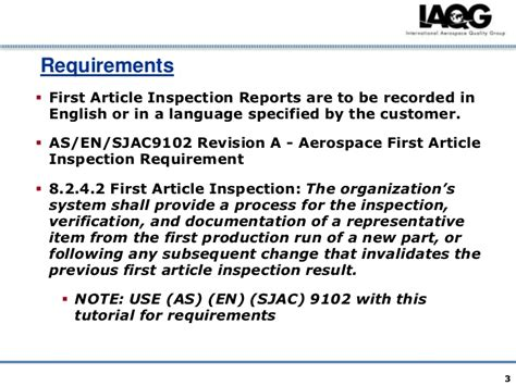 article inspection procedure template article inspection procedure template
