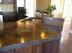 Concrete Kitchen Countertops Concrete Countertops For The Kitchen A Solid Surface On The Cheap