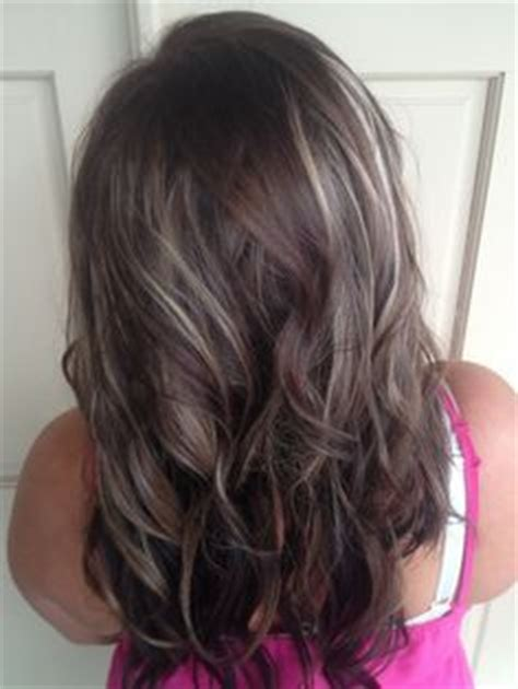 how to make grey highlights on brown hair medium brown hair with grey highlights google search
