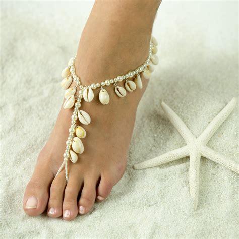 sandals foot jewelry wedding favors