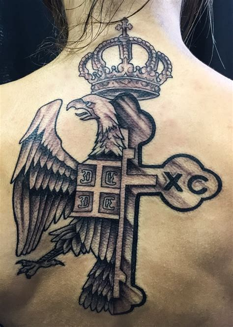 orthodox cross tattoo serbian eagle www pixshark images galleries