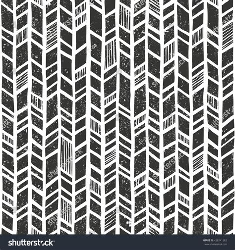 tribal pattern texture vector hand drawn tribal pattern seamless stock vector
