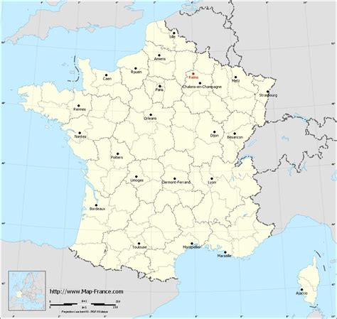 map reims road map reims maps of reims 51100
