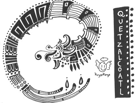 quetzalcoatl tattoo design quetzalcoatl tatoo by krypettonge on deviantart