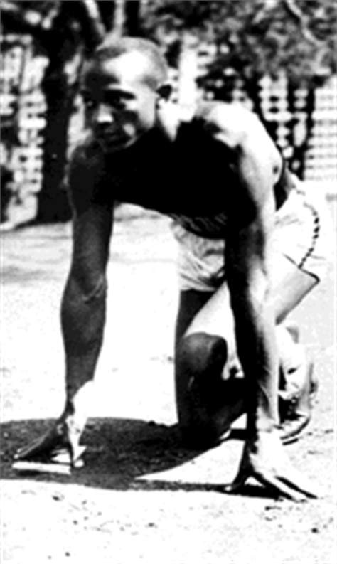 jesse owens biography in spanish jesse owens