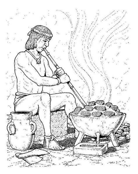 imagenes de los aztecas free dibujos aztecas coloring pages