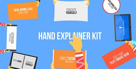 explainer video templates project for after effects videohive hand explainer kit after effects template videohive
