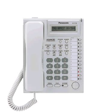 panasonic kx t7730x pbx analog proprietary telephone clickbd